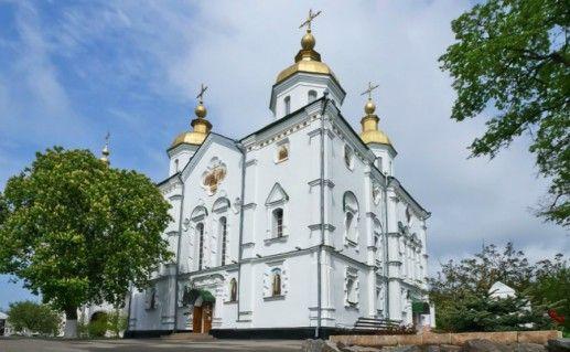 Полтавский Крестовоздвиженский монастырь фото