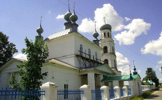 Преображенская церковь в Шуи фотография