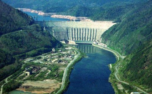 Саяно-Шушенская ГЭС Хакасия  фото