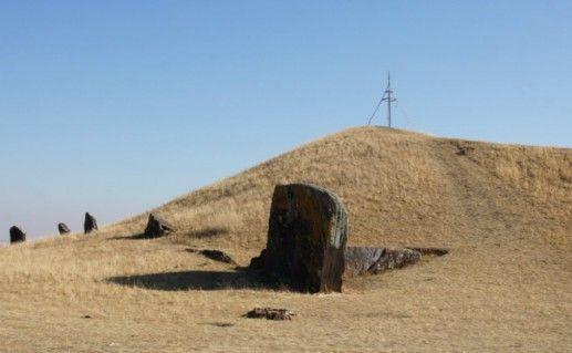 Салбыкский курган Хакасия фотография