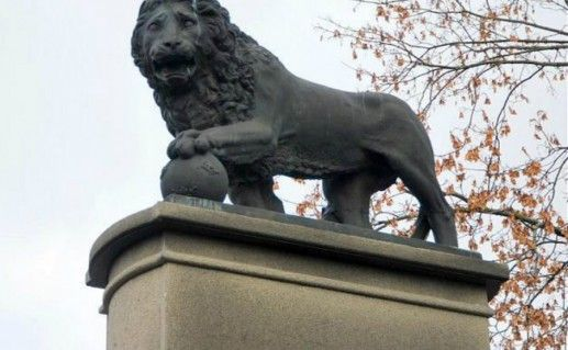 Фотография Шведский лев в Нарве
