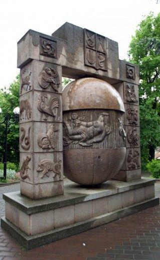 Солнечные часы «Знаки зодиака» в Железноводске фотография