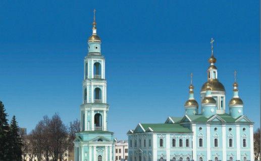 Тамбовский Спасо-Преображенский кафедральный собор фотография