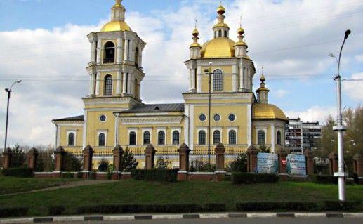 Спасо-Преображенский собор в Новокузнецке фотография