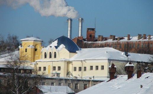 Тюремный замок в Серпухове фотография