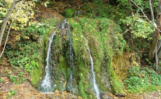 Водопад Радужный в Калужской области фото
