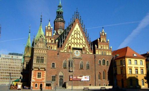 Фотография вроцлавская ратуша