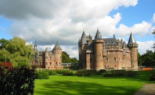 Замок Де Хаар в Утрехте фотография