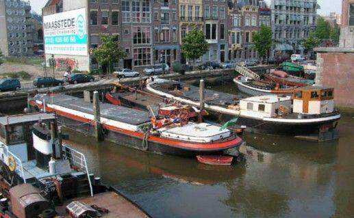 Фото западная торговая часть Роттердама