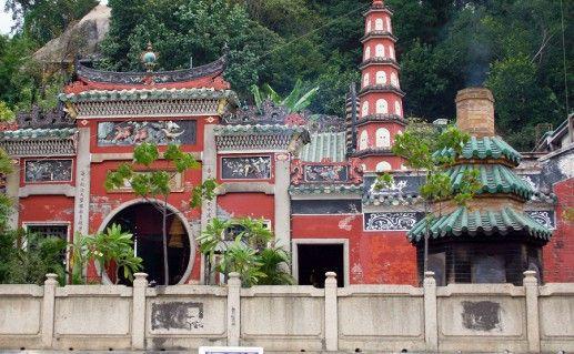 Храм А-Ма в Макао фото