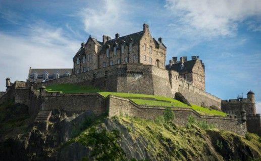 Эдинбургский замок фотография