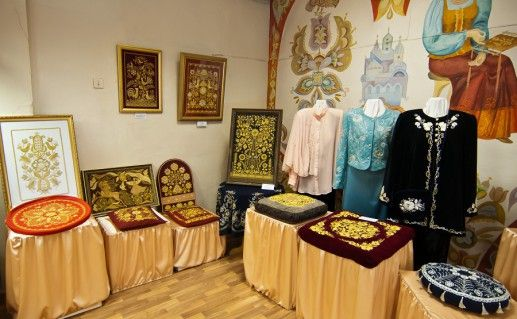 Фотография музея золотого шитья в Торжке
