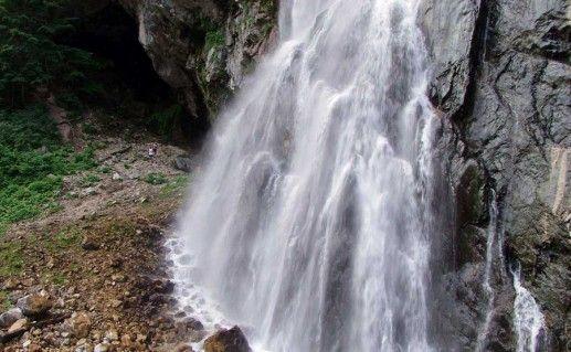 Гегский водопад в Гаграх фото
