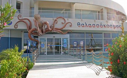 аквариум Морской мир в Ираклионе фотография