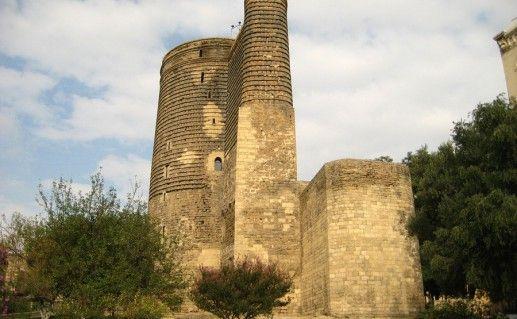 фотография бакинской Девичьей башни
