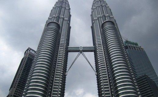 фото башен Петронас в Куала-Лумпуре