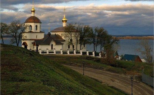 фотография церкви Константина и Елены в Свияжске