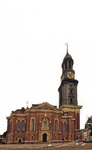 фото церкви Святого Михаила в Гамбурге