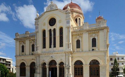 фото храма Святой Екатерины в Ираклионе