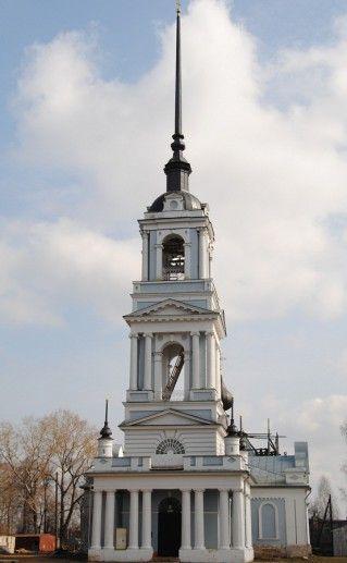 фотография церкви Вознесения Господня в Калязине