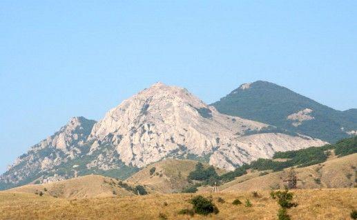 гора Папас-Тепе в Коктебеле фотография
