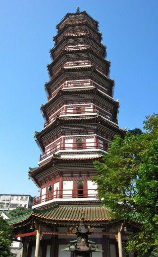 Храм шести смоковниц в Гуанчжоу фото