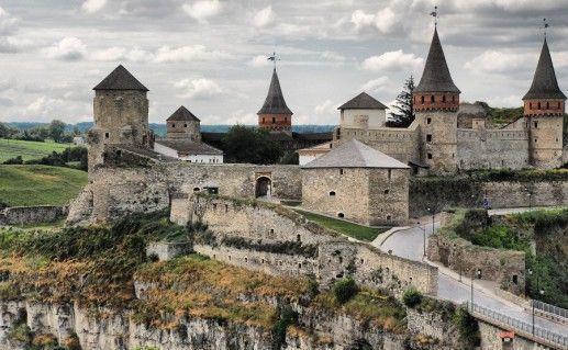 фото Каменец-Подольской крепости