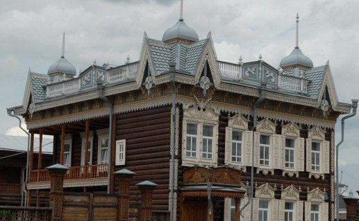 фото Кружевного дома в Иркутске