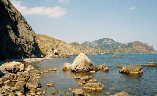 фотография Лисьей бухты в Коктебеле