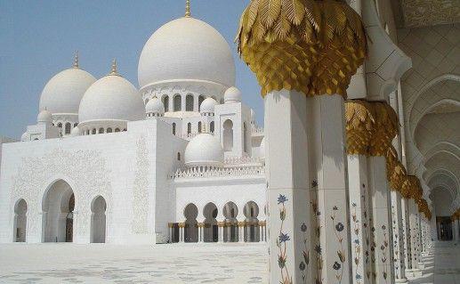 фото мечети Шейха Зайда в Абу-Даби