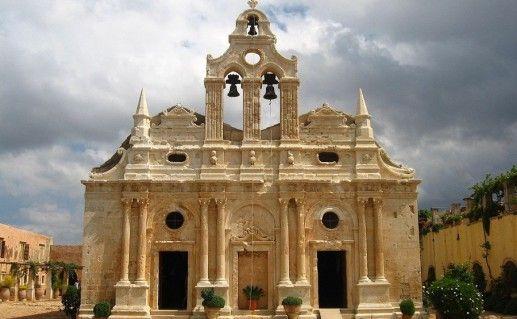 фото монастыря Аркади  в Ретимно