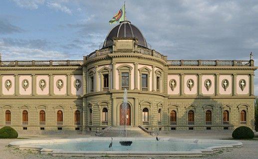 фотография музея Арианы в Женеве