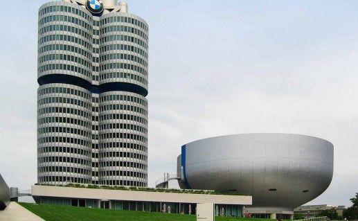фотография музея BMW в Баварии