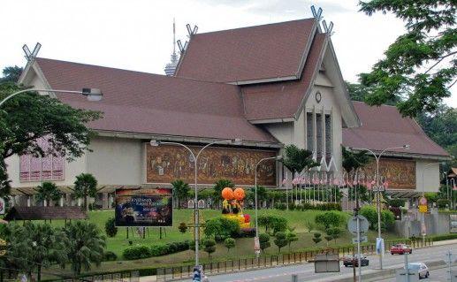 фотография Национального музея в Куала-Лумпуре