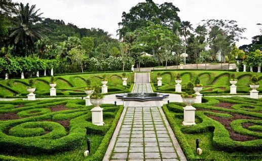 Озерный парк в Куала-Лумпуре фото
