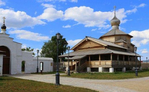 фото Троицкой церкви Свияжск
