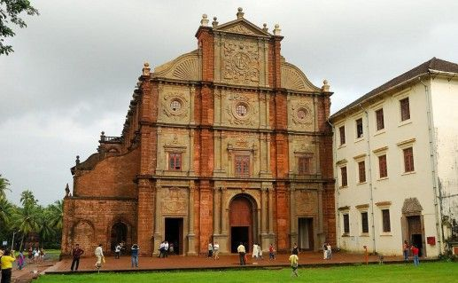 фотография базилики Иисуса на Гоа