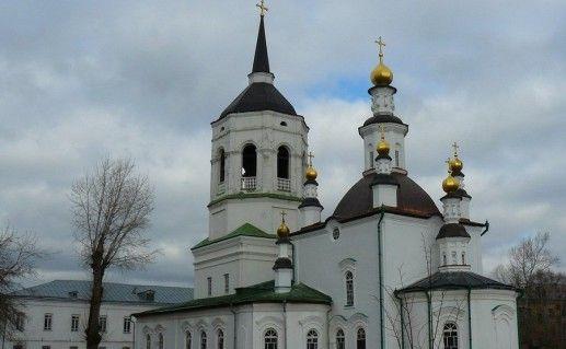 Богородице-Алексеевский монастырь в Томске фото