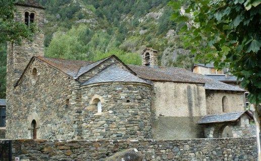 фотография церкви Святого Мартина в Андорре