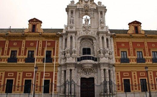 фото дворца Сан-Тельмо в Севилье