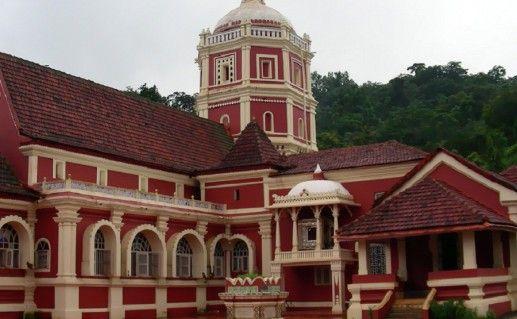 храм Шантадурга на Гоа фото