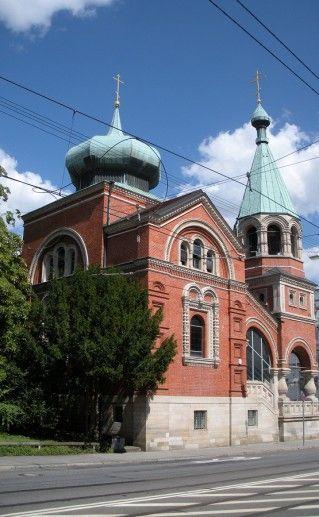 храм Святителя Николая в Штутгарте фотография