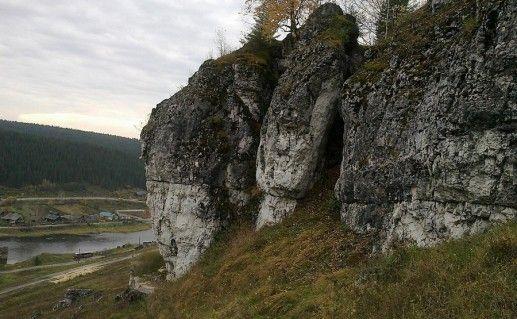 фотография каменного города в Пермском крае