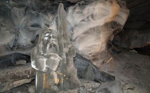 Кунгурская ледяная пещера в Пермском крае фото