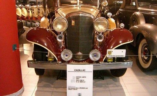 фотография национального музея автомобилей в Андорре