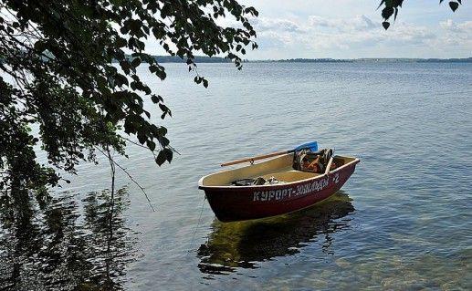 озеро Увильды на Урале фотография