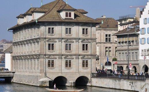 ратуша в Цюрихе фото
