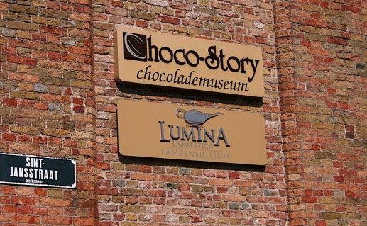 фото брюггского музея шоколада
