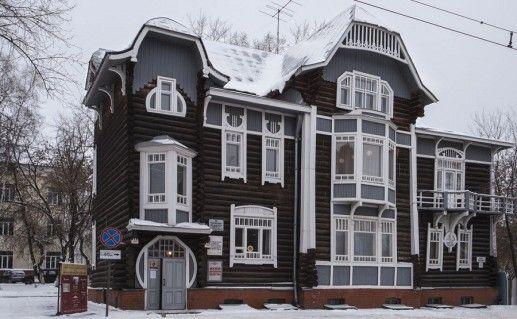 фото Томского музея деревянного зодчества