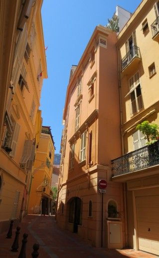 улицы Монако-Вилль фотография